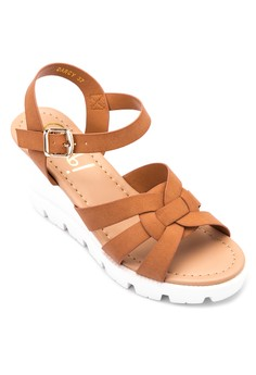 Darcy Wedge Sandals
