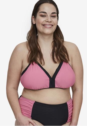 Junarose black Plus Size Vilia Freja Bikini Top 835BFUSC6E689BGS_1