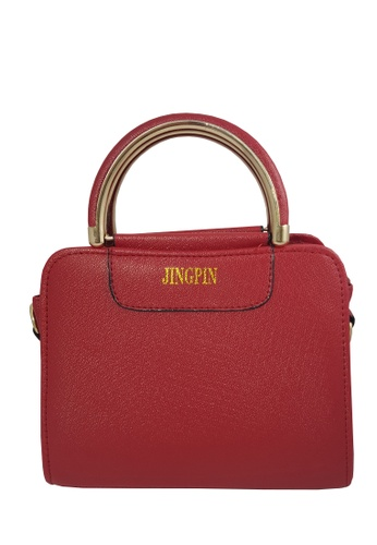 TCWK red TCWK Korea Fashion Ladies Handbag AD71BAC5C63DC3GS_1
