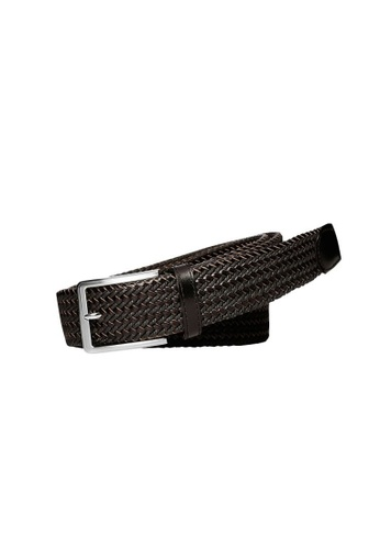Buckle black Daytona 35mm Plaited Belt 2E152ACFFCE127GS_1