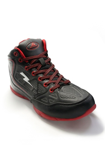ACCEL black P-Guard 2 Sports Lifestyle Shoes AC958SH06KHTPH_1