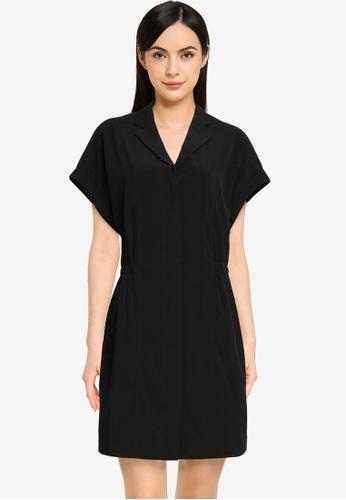 Banana Republic black Resort Collar Shirt Dress FCDCCAA08C7618GS_1