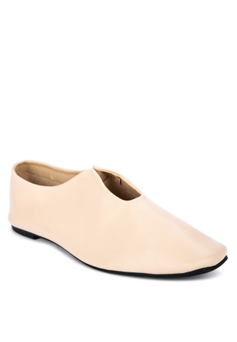 ABOUT A GIRL beige Square Toe Ballet Flats E8B96SHCE03F12GS_1