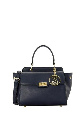 SEMBONIA blue SEMBONIA Synthetic Leather Satchel Bag E979AAC2A3221BGS_1