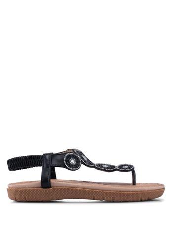 NOVENI black Noveni Sandals 8AB87SH418A2E3GS_1