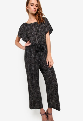 TOPSHOP multi Rainbow Glitter All in One Jumpsuit TO412AA33KNAMY_1