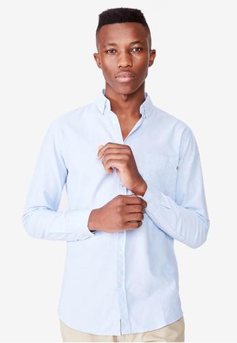 Cotton On blue Brunswick Shirt 3 8A896AA6FC81ACGS_1