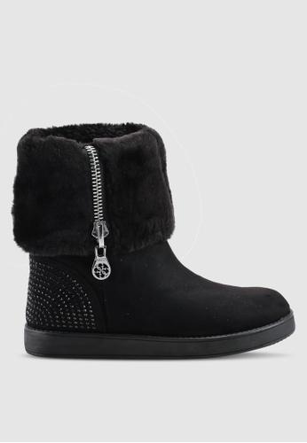 Guess 黑色 Aie Winter 靴子 C9E19SH05856DDGS_1
