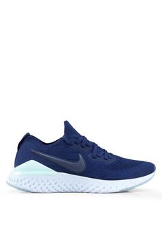 best sneakers ff96c 92729 Nike blue Nike Epic React Flyknit 2 Shoes 58915SHD389448GS 1