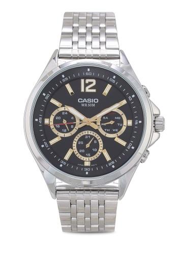 b2d4f0d76be4 Casio silver Casio MTP-E303D-1AVDF Watch B1F49AC7B15E1FGS 1