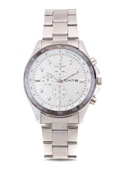 Stainless Analog Watch 8011G