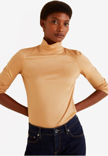 e9ce247f8e Buy Mango Stand Collar T-Shirt Online on ZALORA Singapore