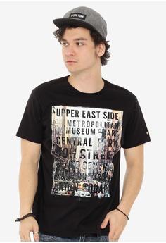 31e697915e5cf Zoo York black Boys Graphic Tshirt Roundneck 08421AA8B46E6BGS_1