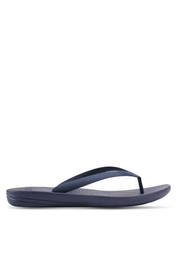 61381c83b8ae Fitflop navy iQushion Ergonomic Flip Flops 06166SH2183ACAGS 1