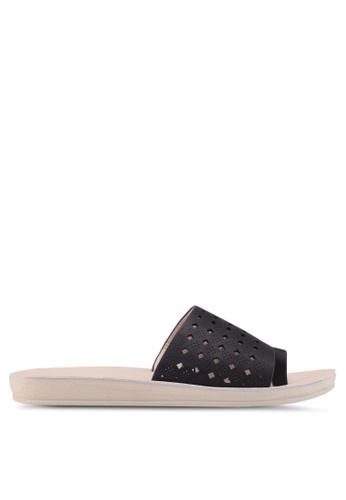 Noveni 黑色 休閒涼鞋 2CA18SHBF4FD5FGS_1