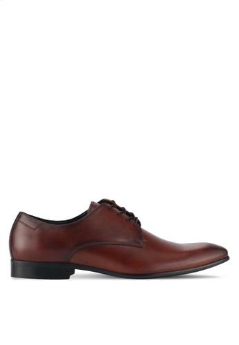 ALDO brown Tilawet Lace Up Shoes 76C0DSHC5A3740GS_1