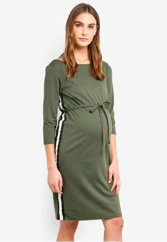 Mama.licious green Tine Blackie Dress 6C51BAA7B82C78GS_1