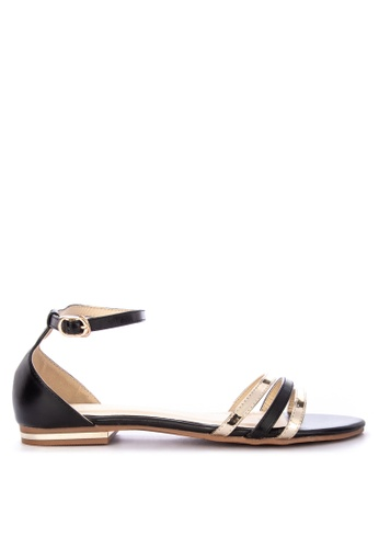 7f0f7ea1b450 Shop Gibi Flat Ankle Strap Sandals Online on ZALORA Philippines