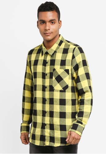 Factorie multi Check Me Out Shirt 78EE0AAD95477DGS_1