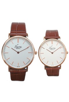 Ibarra Leather Dress Watches Promo Bundle
