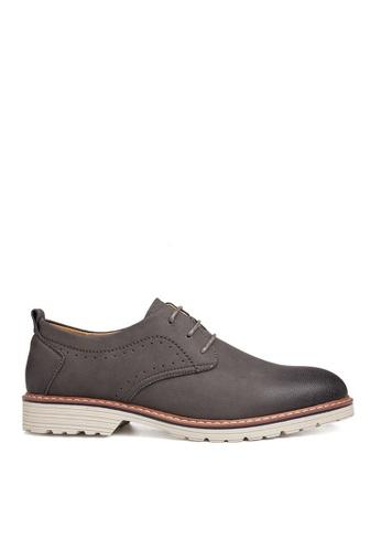Twenty Eight Shoes 灰色 特色鞋底擦色休閒鞋  VSM-F2002 CFC49SH8024B7FGS_1
