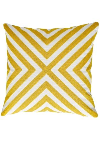 Homeliving.My X-Design Throw Pillow Yellow C8E39HLD34D757GS_1