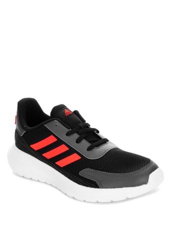 ADIDAS black tensor running shoes D358EKSB7132CEGS_1