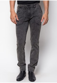 Slim Tapered Reversible Jeans
