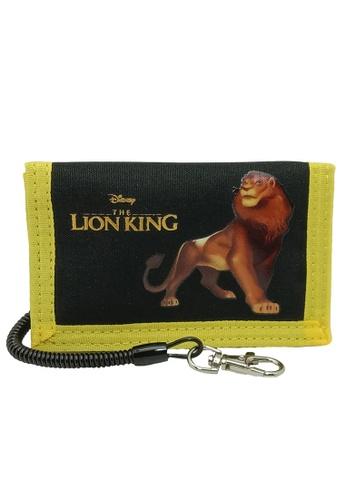 The Lion King black and yellow Disney Lion King Tri Fold Wallet 888EFKC276CF3FGS_1