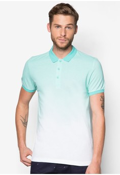 Printed Ombre Polo