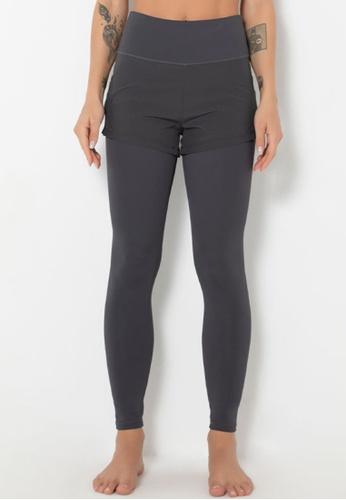 Trendyshop grey 2-in-1 High-Elastic Fitness Leggings 8313BUS16BF4FDGS_1