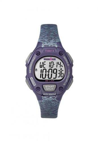 TIMEX purple Timex IRONMAN® Classic 30 Mid-Size - Purple Resin Strap(TW5M07500) TI857AC60ZNRSG_1
