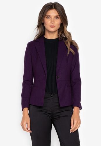 5d2280edd2b Shop Well Suited Slim Fit Woolen Blazer Online on ZALORA Philippines