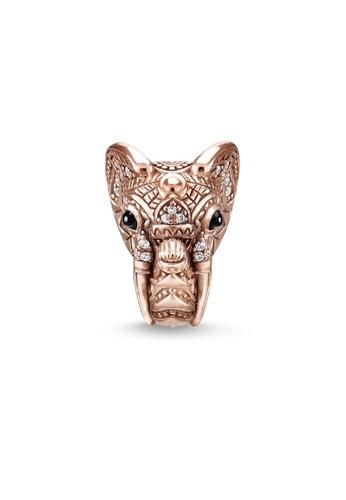 "THOMAS SABO beige Bead ""elephant"" A23DEAC89BC009GS_1"