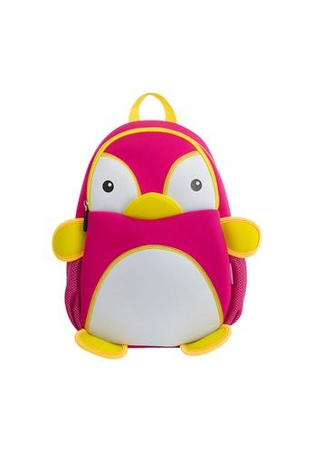 Nohoo pink Nohoo Kids Backpack Penguin (Pink) B21CFKC40086CBGS_1