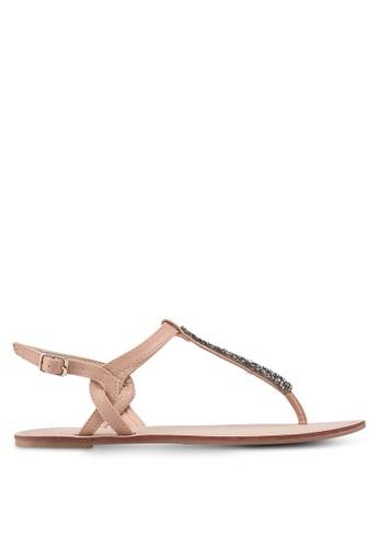 ONLY pink Margit Split Toe Sandals 69FEESH01535C0GS_1