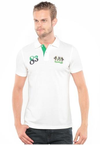POLO HAUS white Polo Haus - Polo Tee (White) PO783AA53YSOMY_1
