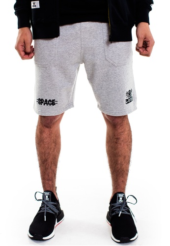 Reoparudo grey RPD Cross Space Edition Shorts (Grey) E806DAAF9DCF05GS_1