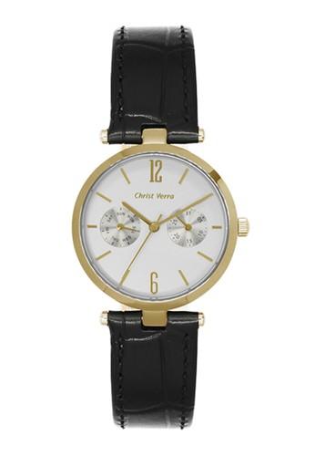 Christ Verra black Christ Verra Women's Watches CV 75037L-22 SLV 7B907AC33F2F61GS_1