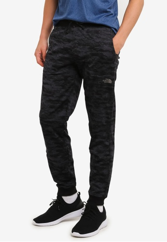The North Face grey TNF M AMPERE LITHO PANT - AP ASPHALT GREY PRINT TH879AA0FM2JSG_1