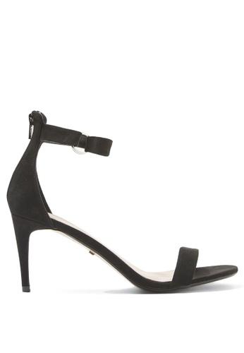 TOPSHOP black Ring Heeled Sandals 5D19ESHFD47BBFGS_1