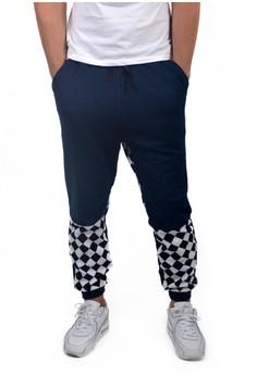 Men's Cotton Jogger Pants Racer