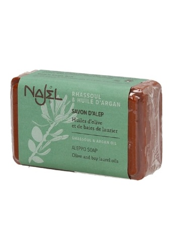 NAJEL NAJEL - Aleppo Soap with Ghassoul and Argan Oil(100g) 16599BE03603E9GS_1