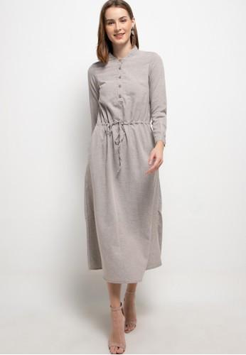 GRAPHIS brown Dalmi Long Dress E2B16AA00B237EGS_1