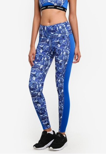 2GO blue Printed Tights 2G729AA0S5UVMY_1