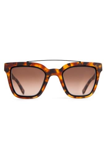 Marshall Eyewear brown Lee Matte Havana MA266AC66OWNSG_1