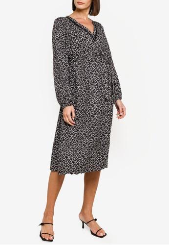 Mama.licious black Maternity Zelina Long Sleeve Dress 26CD6AAE03A857GS_1