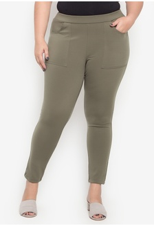 6fbfca14b0f Shop Maxine Plus Size Skinny Stretch Pants Online on ZALORA Philippines
