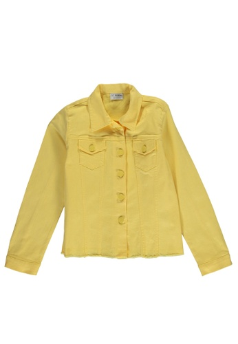LC Waikiki yellow Pocket Detailed Jacket 59D41KA83FA544GS_1