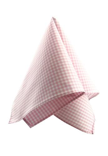 Caveman pink Pastel Pink Plaids Pocket Square 32C03AC0EC8868GS_1